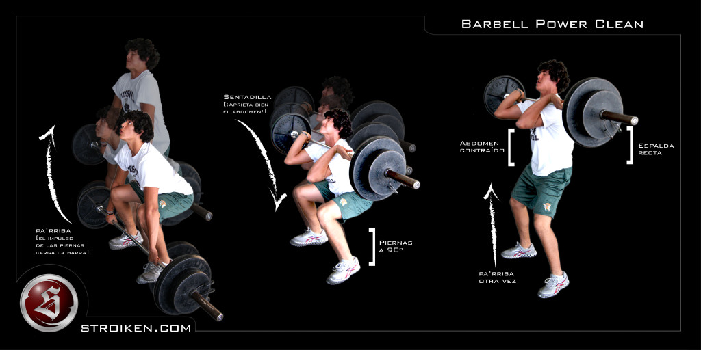 Barbell-Power-Clean
